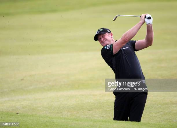 Wales' Jaime Donaldson during day four of the 2012 Open Championship at Royal Lytham St Annes Golf Club Lytham St Annes