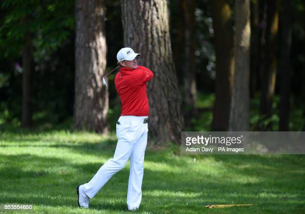 Wales' Jamie Donaldson during day four of the BMW PGA Championships at the Wentworth Club Surrey