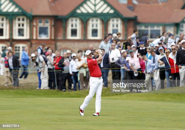 Wales' Jamie Donaldson during day three of the 2012 Open Championship at Royal Lytham St Annes Golf Club Lytham St Annes