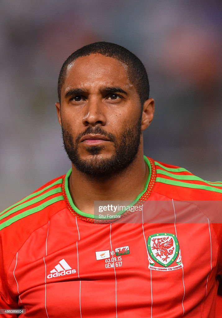 Wales player <a gi-track='captionPersonalityLinkClicked' href=/galleries/search?phrase=Ashley+Williams+-+Soccer+Player&family=editorial&specificpeople=13495389 ng-click='$event.stopPropagation()'>Ashley Williams</a> pictured before the UEFA EURO 2016 Qualifier between Cyprus and Wales at GPS Stadium on September 3, 2015 in Nicosia, Cyprus.
