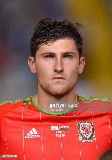 Wales player Ben Davies pictured before the UEFA EURO 2016 Qualifier between Cyprus and Wales at GPS Stadium on September 3 2015 in Nicosia Cyprus