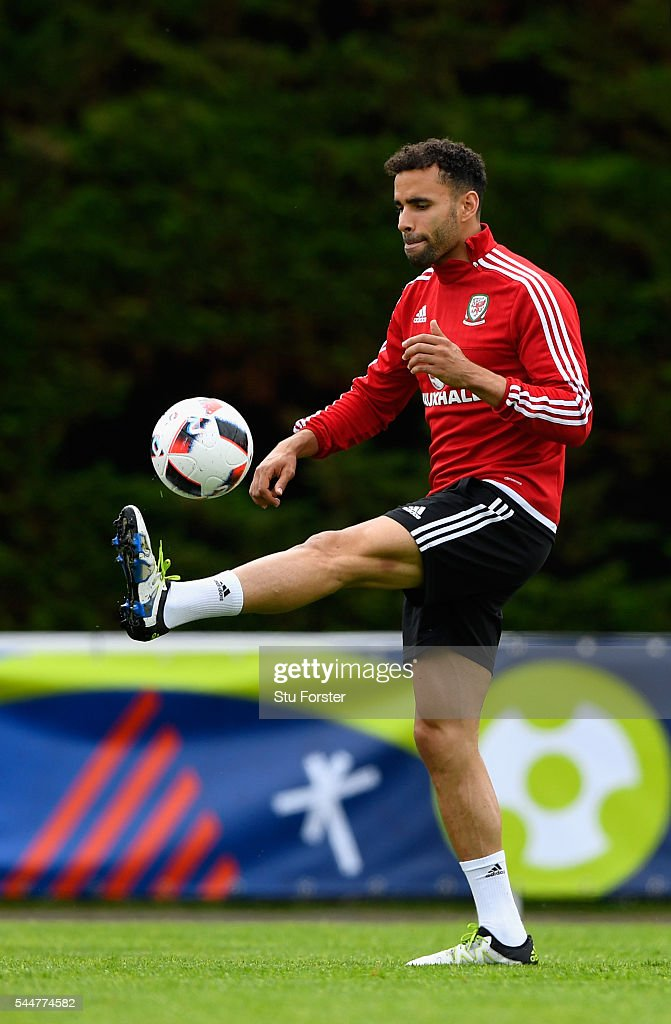 Wales Training Session and Press Conference
