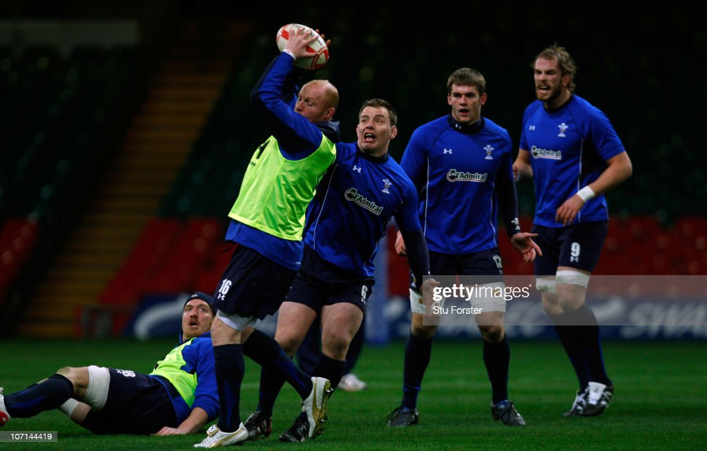 Wales Rugby Training Session