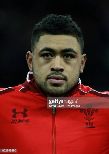 Wales' Toby Faletau during the Dove Men Series at the Millennium Stadium Cardiff