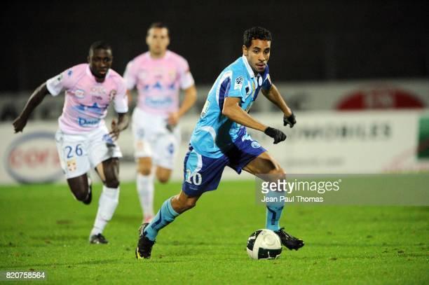 Walid MESLOUB Evian Thonon / Le Havre 14eme journee de Ligue 2