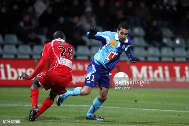 Walid MESLOUB Nimes / Le Havre 24e journee de Ligue2