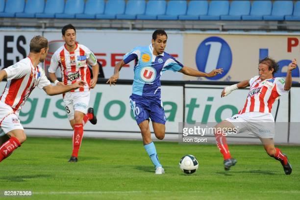 Walid MESLOUB Le Havre / Ajaccio 2eme journee de Ligue 2