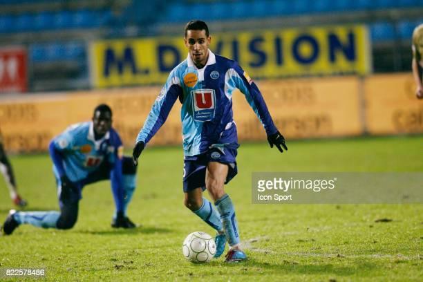 Walid MESLOUB Le Havre / Tours 21eme journee de Ligue 2 Stade Jules Deschaseaux Le Havre