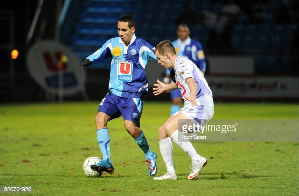 Walid MESLOUB Le Havre / Istres 25e journee Ligue2