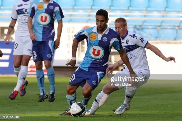 Walid MESLOUB Le Havre / Bastia 4e journee de Ligue 2 Vincent Michel / Icon Sport