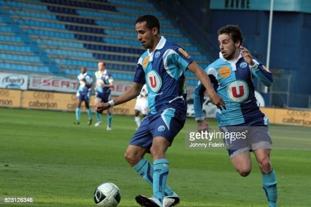 Walid Mesloub / Alexandre Bonnet Le Havre / Vannes Ligue 2