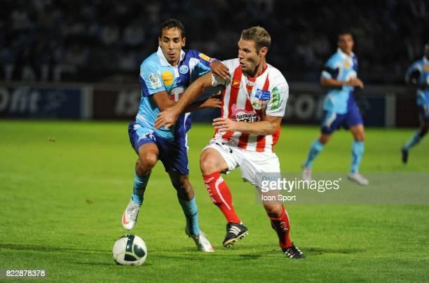 Walid MESLOUB / Arnaud MAIRE Le Havre / Ajaccio 2eme journee de Ligue 2
