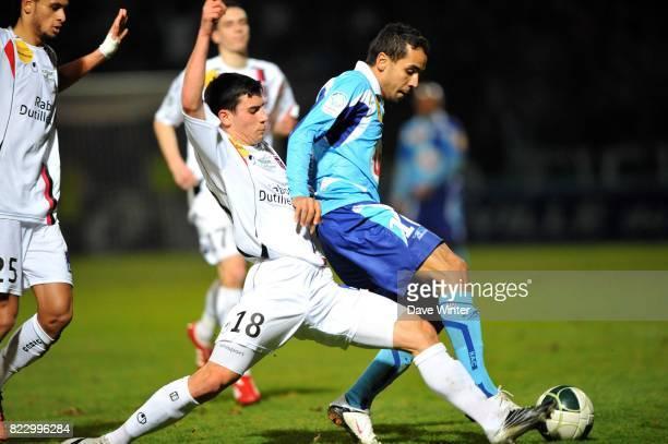 Walid MESLOUB / MAxime COLIN Le Havre / Boulogne 27eme journee de Ligue 2