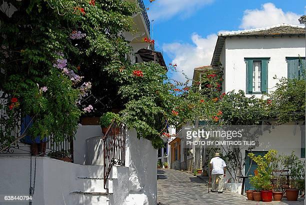 Walk at Hora Skopelos