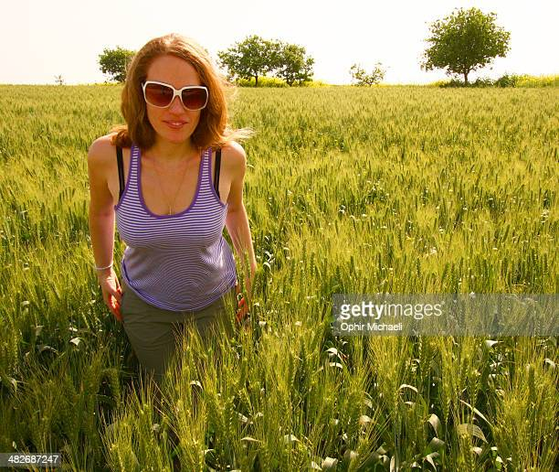 A walk at the fields