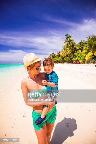 Walk by the sea : Stock Photo