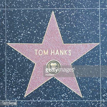 Walk of Fame Hollywood Star - Tom Hanks