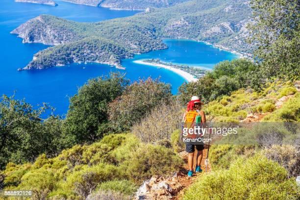 Marcher sur le chemin de Lycie antique.