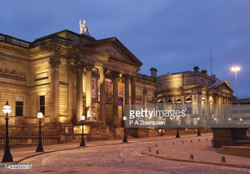 Walker Art Gallery and County Sessions Court, Liverpool, Merseyside, England