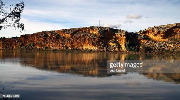 Walker Flat Cliff Reflection