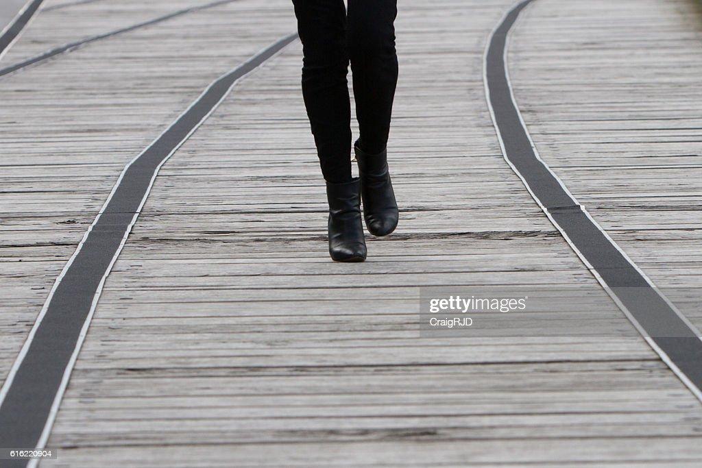 Walking Schuhe : Stock-Foto