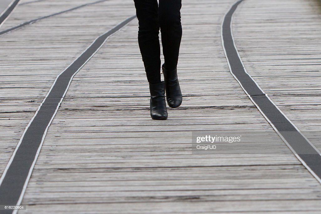 Walking Boots : Stock Photo