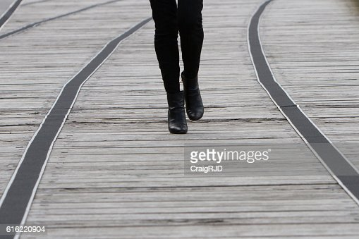 Walking Boots : Stock Photo
