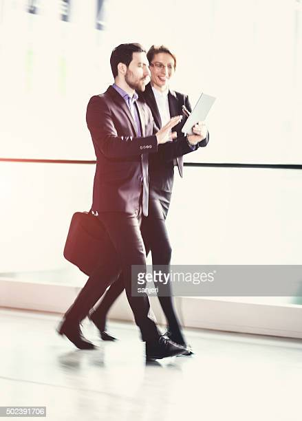 Walking business Personen