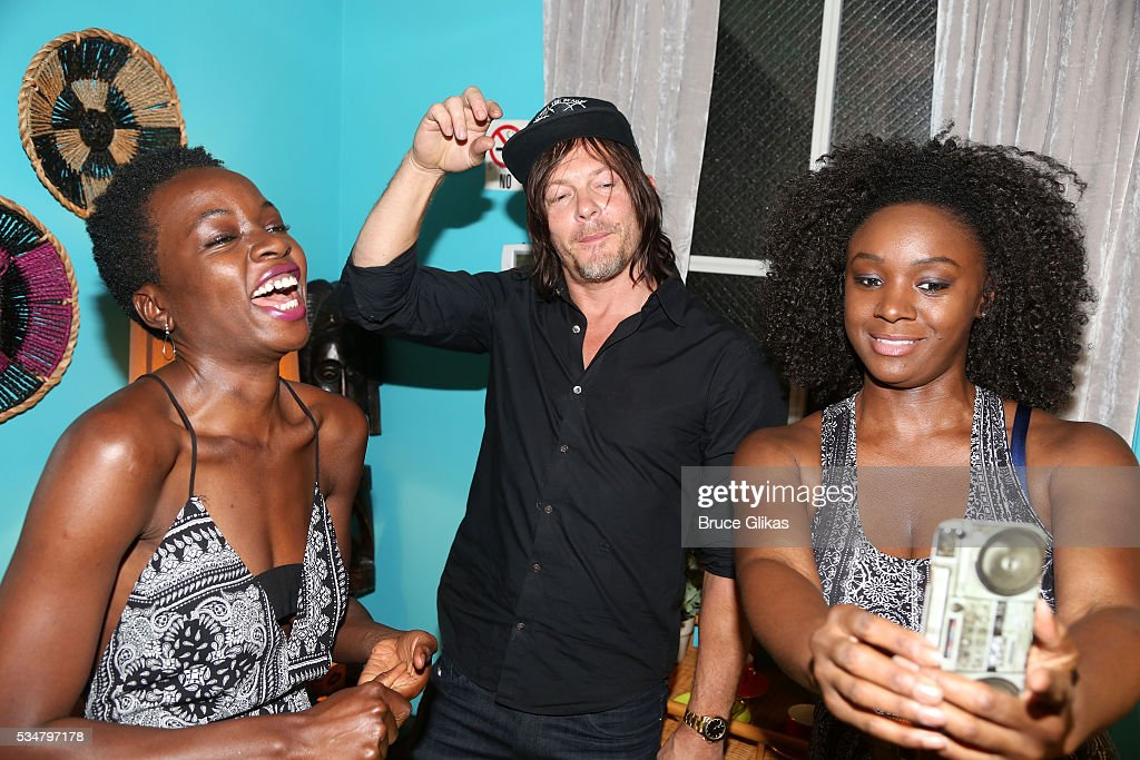 danai gurira and norman reedus relationship