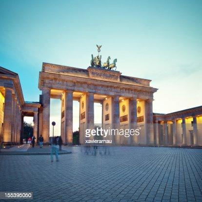 Walking in Brandenburg Gate