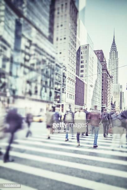 Fuß in New York