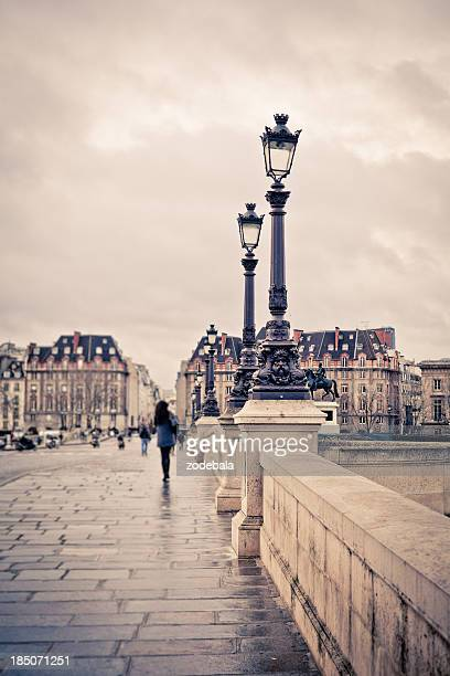Pied au Pont-Neuf, Paris, France