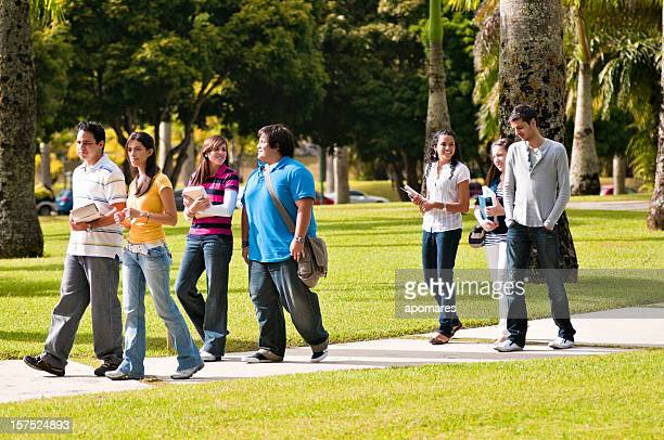 Walking in the Campus