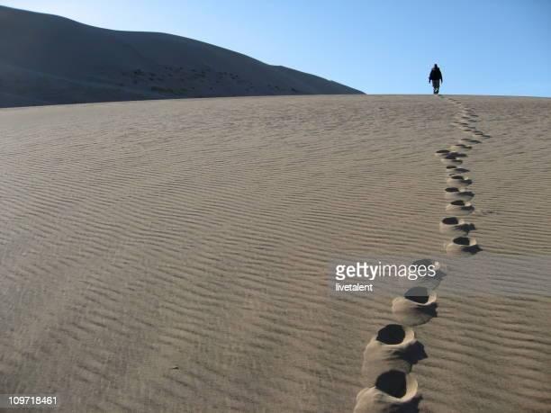 Marcher dans le désert