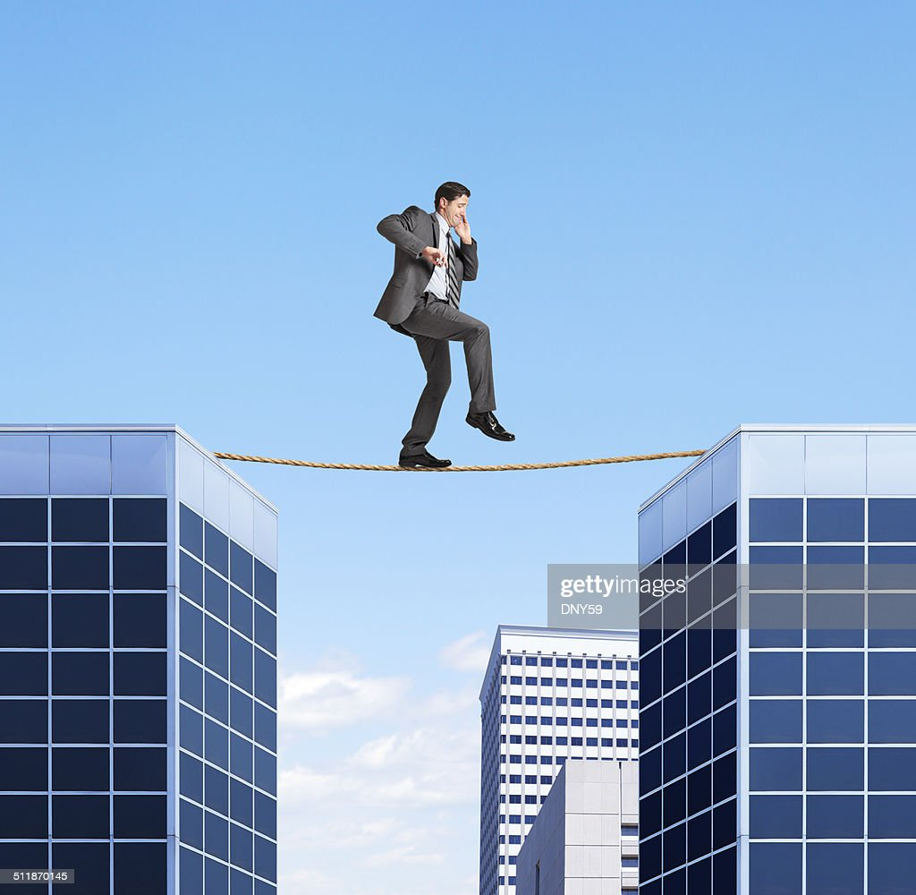 Walking On A Tightrope