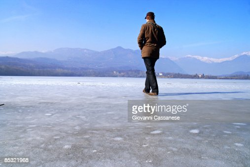 Walking on the water...