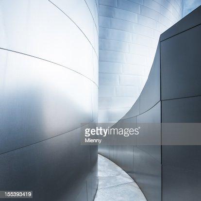 Walkway Corridor Modern Architecture Abstract