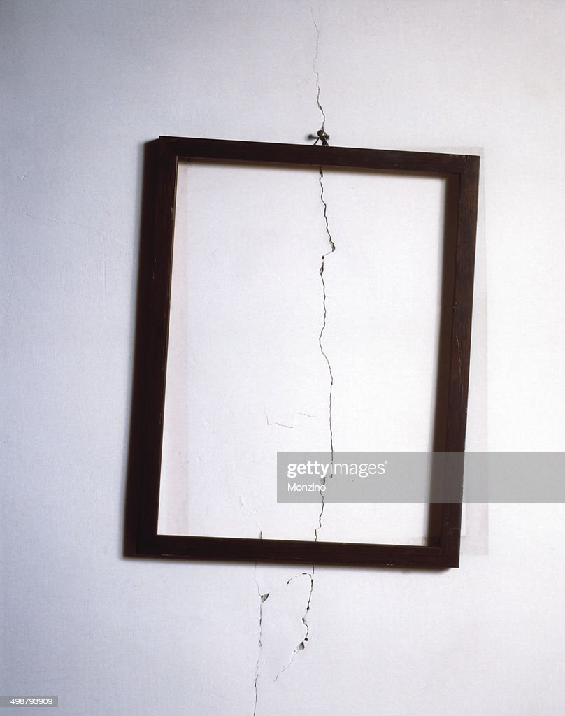 Wall and the frame
