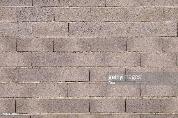 Wall, cinder block