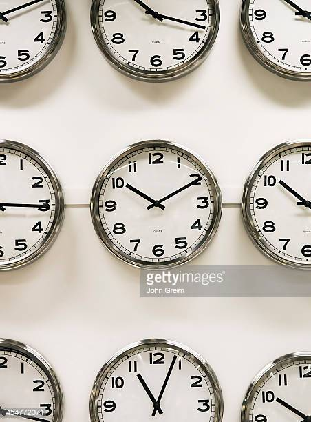Wall clock display
