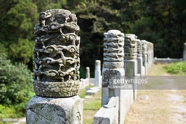 Wall Detail From The Xiaoling Mausoleum Near Nanjing, China