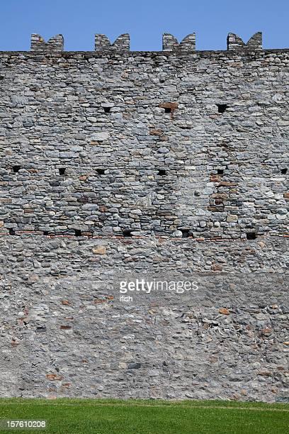 Wand Bellinzona Castelgrande, die zum Unesco-Weltkulturerbe, Schweiz