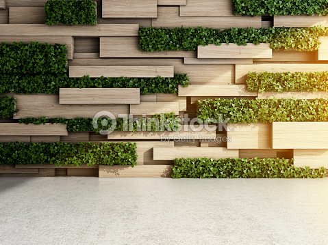 Wall in modern interior : Foto de stock