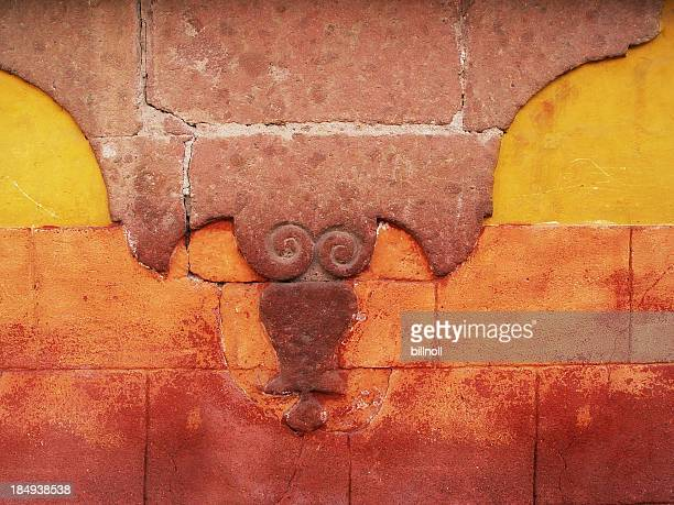 Wall in San Miguel, Mexico