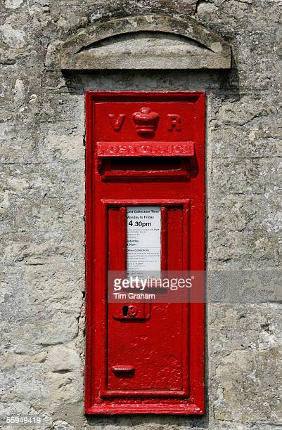 Wall Mounted PostBox England