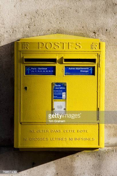 Wall Mounted PostBox Paris France
