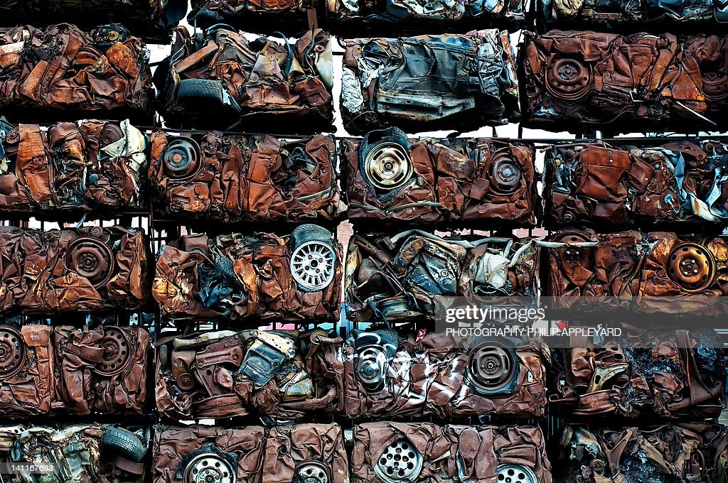 Wall of cars : Stock Photo
