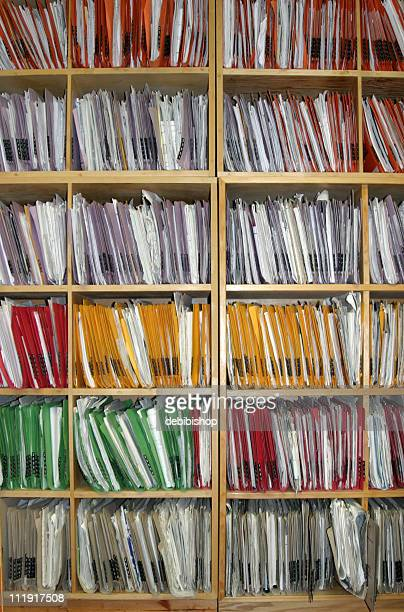 Wall of Office Files