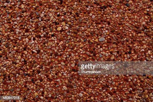 Pared de piedras y Piedra arenisca de fondo. : Foto de stock