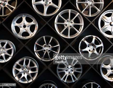 Wall of wheels #3